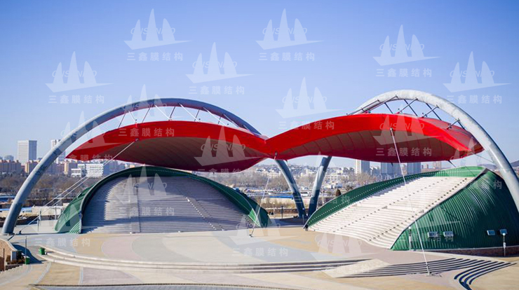 The PTFE Membrane Structure Project of Shenyang Xingcheng BIKINI Square