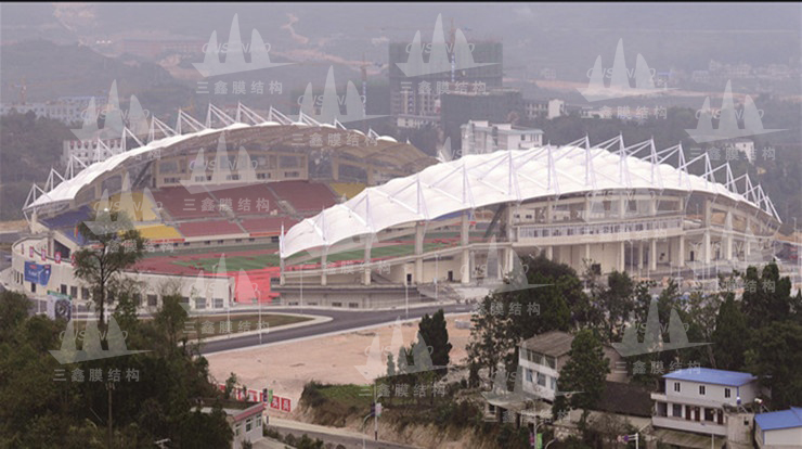 The Steel & Membrane Structure Project of Guizhou Fuquan Sports Centre